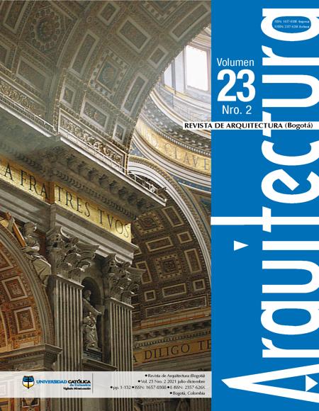 Portada Número 23-2. Autor: Luis Alberto Martínez Camacho. Título: Las Bóvedas del Bramante.